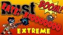 Rust Extreme - Rate x10000000 Спавн с автоматом и дробашом, Дикий фарм, Бешенная стройка.