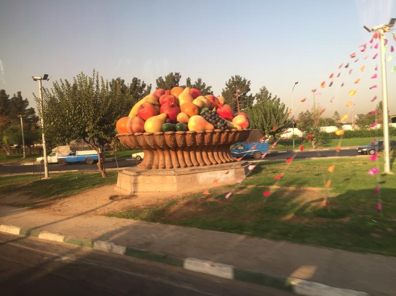 Ком. Путешествие в Иран