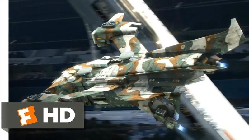 Elysium (2013) - Crash Landing Scene (510) | Movieclips