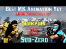 Scorpion Vs Sub-Zero (Mortal Kombat Animation)