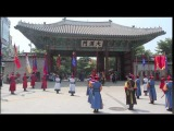 Changing of the Guard at Deoksugung Palace in Seoul Korea