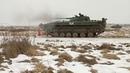Огневая подготовка экипажей БМП-2 БФ к первому этапу конкурса АРМИ «Суворовский