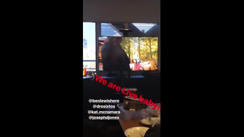 18 03 19 Публикация в Instagram Story сериала Стрела