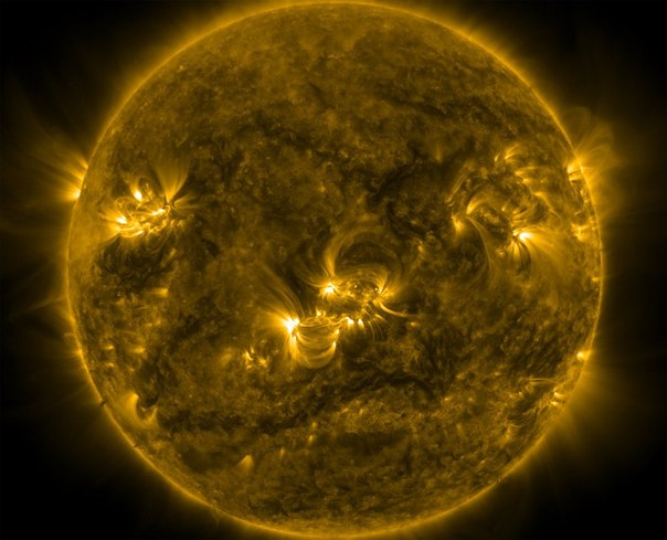 NASA опубликовали волновой видеопортрет Солнца