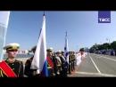 Парад в честь Дня ВМФ в Санкт-Петербурге