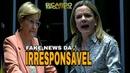 Gleisi IRRESPONSAVELMENTE acusa Bolsonaro por tudo de ruim e é tragada por Ana Amélia