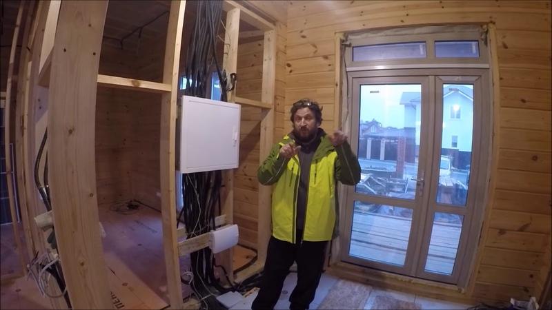 Электрика в деревянном доме. Как делать правильно