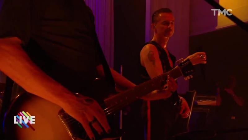 Depeche Mode en concert live sur la scène de Quotidien de TMC - 21_03_2017