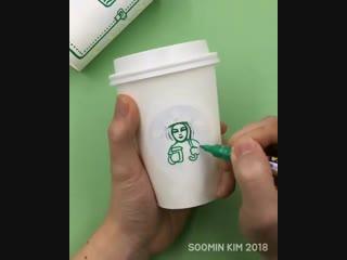 Очумелые ручки и Starbucks