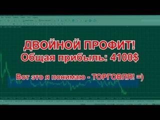 Как заработать на бинарных опционах? Отличная стратегия для торговли! 4100$ за 45 минут!!!