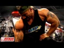 Marco Rivera Trains Arms at Bev Francis Powerhouse Gym