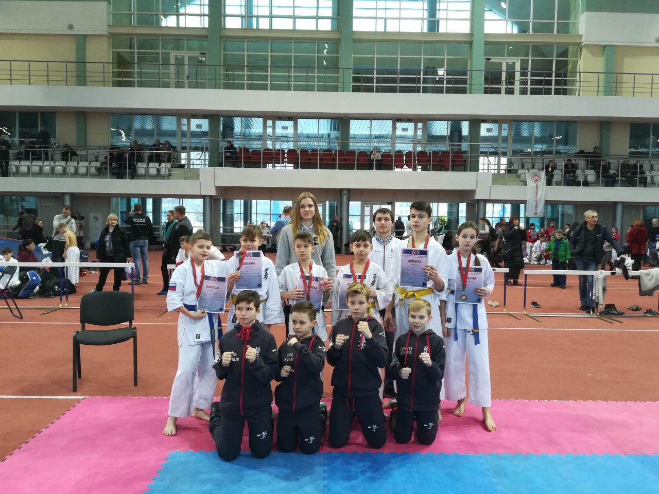 Кайман принял участие в турнире Белорусской ассоциации карате