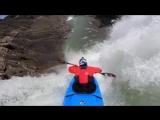 Прыжок с 100-футового водопада Ram Falls