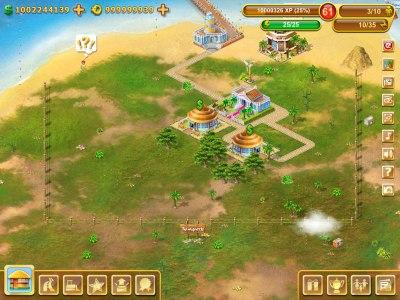 Взлом игры Paradise Island Exotic БЕЗ JB Свойства Много денег и