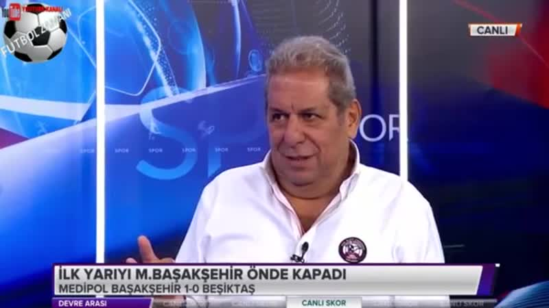 Başakşehir 1-0 Beşiktaş Erman Toroğlu Devre Arası 3 Kasım 2018