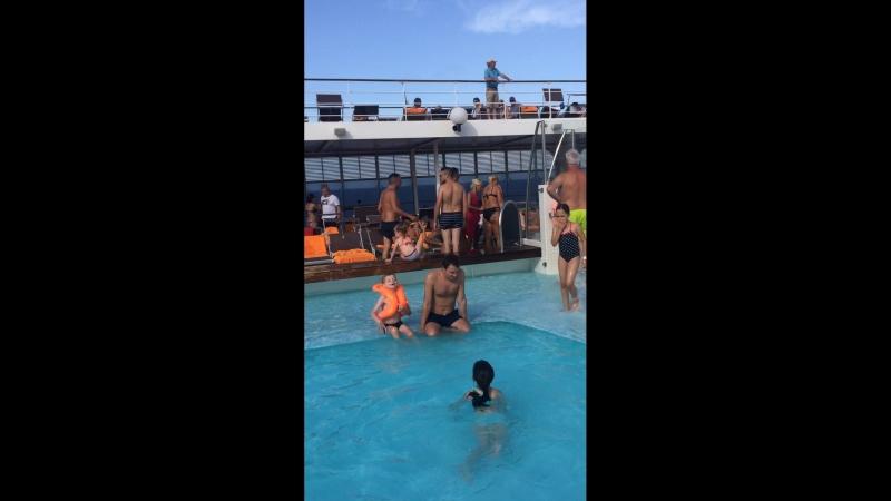 MSC лайнер, отпуск 2018, Италия