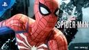 Человек Паук Трейлер игрового процесса PS4