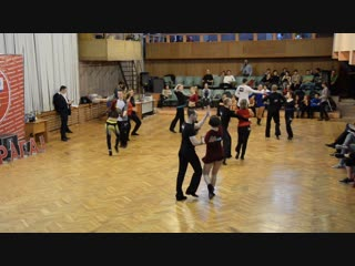 ХАСТЛ, Discofox, УРАГАН 2019, ДнД Rising Star 14 финала, заход 1, танец 1