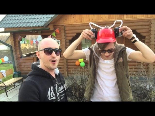 ВЛОГ ТОМСК Тусэ и дача на ушах Играю на барабанах ДР Никитоса 10