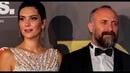 Халит Эргенч и Бергюзар Корель на церемонии BIAF в Бейруте