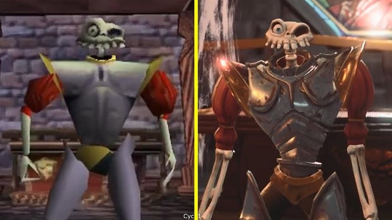MediEvil Remaster vs Original Early Graphics Comparison