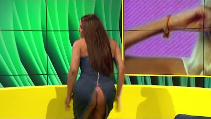 Lateysha Dress Split Iconic BB Moment - Big Brother Universe