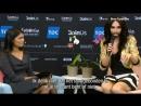 Conchita Wurst doet verslag tijdens eurovisie songfestival Shownieuws 2014