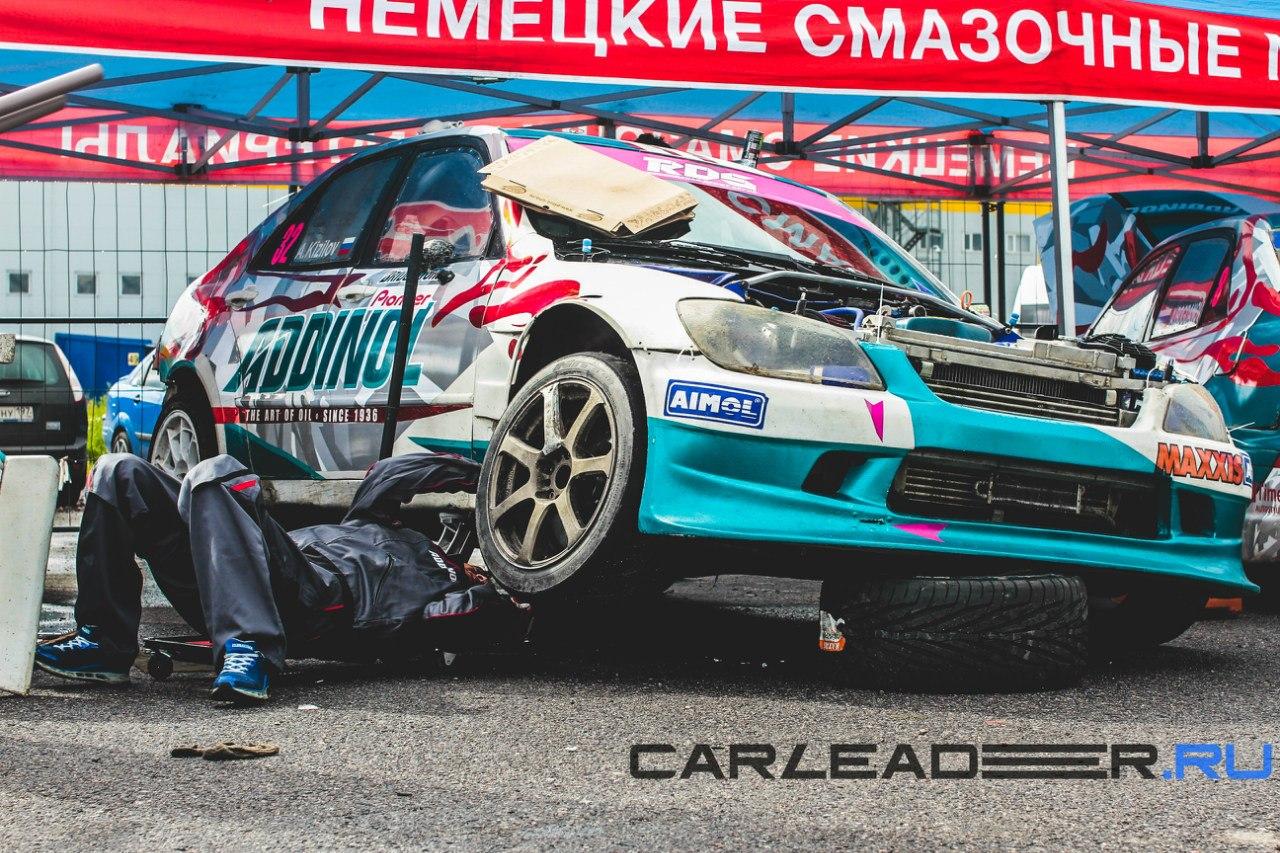 Toyota Altezza ехала гораздо лучше, чем на первом этапе в Москве.
