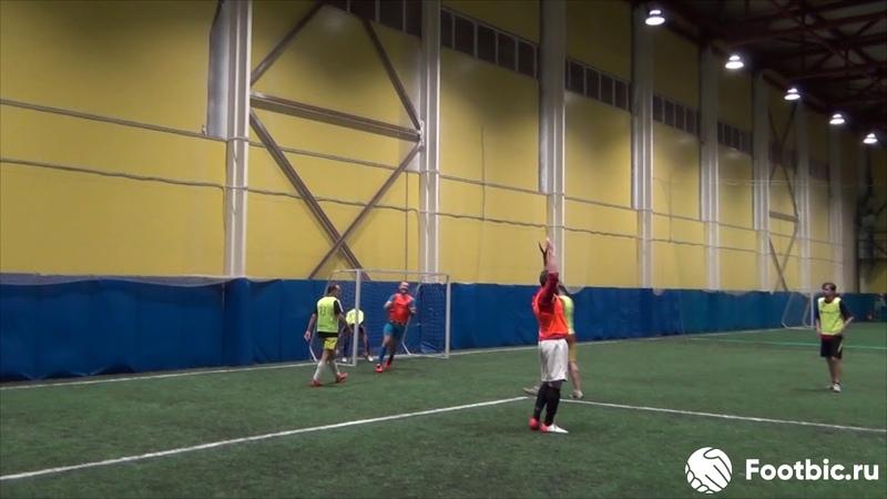 Гол Силантьева Константина Любительский футбол в Питере
