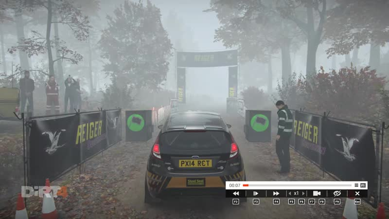DiRT 4 Blist Forest - Short Descent | Michigan, USA | Stage time 158.769