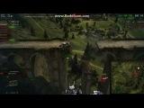 World Of Tanks полет на карте Фестфилд #2 HD 720p 2014
