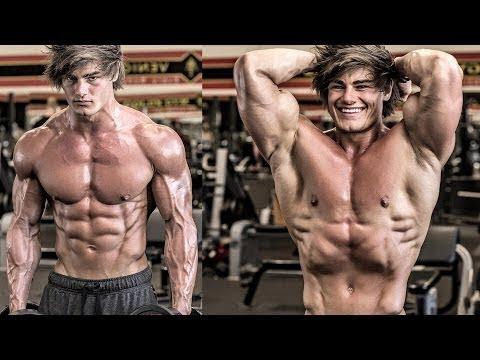 Jeff Seid о тренировки груди и питании | 1 (Джефф Сейд на РУССКОМ)