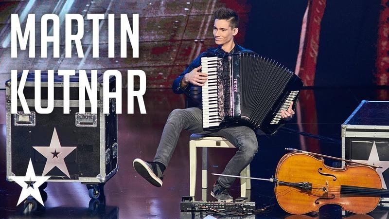 Martin Kutnar│Sviranje │Supertalent Hrvatska 2017.│Polufinale