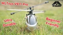 WLToys V911 Pro Ultra Durable Beginners Mini Electric RC Helicopter