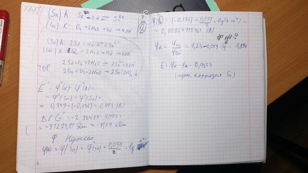 Ph=4 и активности ионов