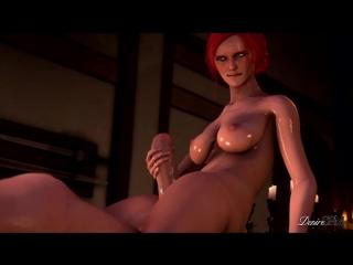 CORRUPTION OF THE LODGE: PART 2 (The Witcher Porn, SFM Porn, Futanari, Anal, Vaginal, Blowjob, Rape, All sex, Lesbians, Triss)