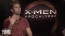 X Men Apocalypse's Tye Sheridan Alexandra Shipp and Ben Hardy play the 'Who Men' game