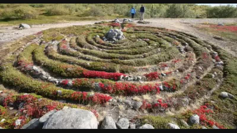 Загадочный остров кто построил каменные лабиринты в Белом море