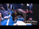 LeBron James Gets Hit On the Nose & Bleeds | Heat vs Thunder | February 20, 2014 | NBA