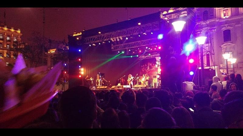 Charlie Parra en la Plaza San Martín, Lima Celebra el Rock 2018