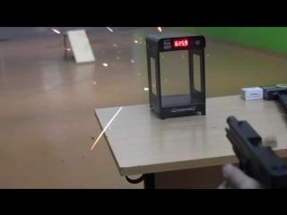 Пистолет травматический Fantom кал. 9 мм отстрел через хронограф