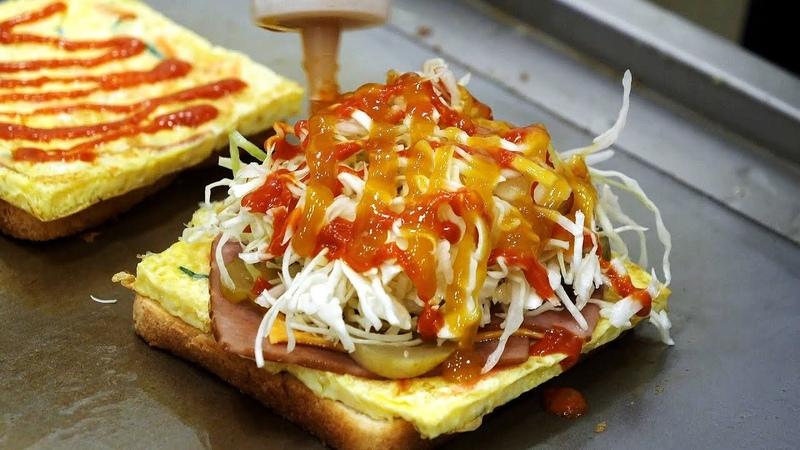 3천원짜리 사당 석봉 토스트 노릇노릇 맛있는 계란 토스트 길거리음식