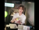 ALDKSKD HE LITERALLY JUST TURNED ON BUFF BABY AND RANDOMLY TOOK OUT SLIME AND PLAYED WITH IT LMAO I CANT