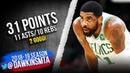 Kyrie Irving Triple-Double 2019.03.14 Celtics vs Kings - 31 Pts, 12 Asts, 10 Rebs! | FreeDawkins