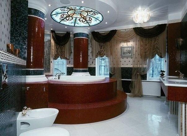Потрясающая ванная комната (1 фото) - картинка