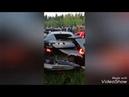 Появилось видео аварии во время гонок под Кировом