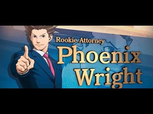 Ace Attorney Phoenix Wright оригинальная трилогия анонсирована для PC PS4 Xbox One и Nintendo