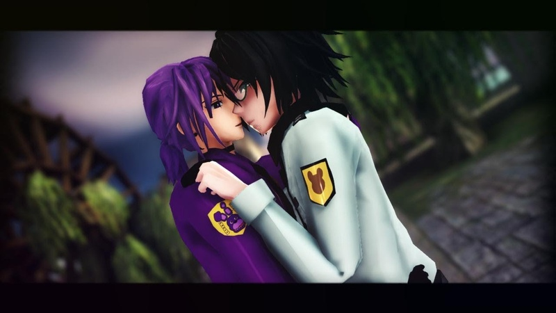 ♦MMD || FNAF♦ E.T (cover) [YAOI] ♢ Purple Guy x Phone Guy ♢
