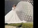 Как Бизе выглядит на свадьбе