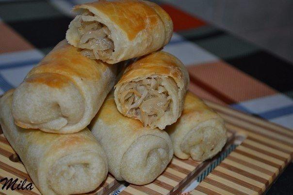 Вэрзере - молдавские пирожки с капустой ОЧЕНЬ вкусные